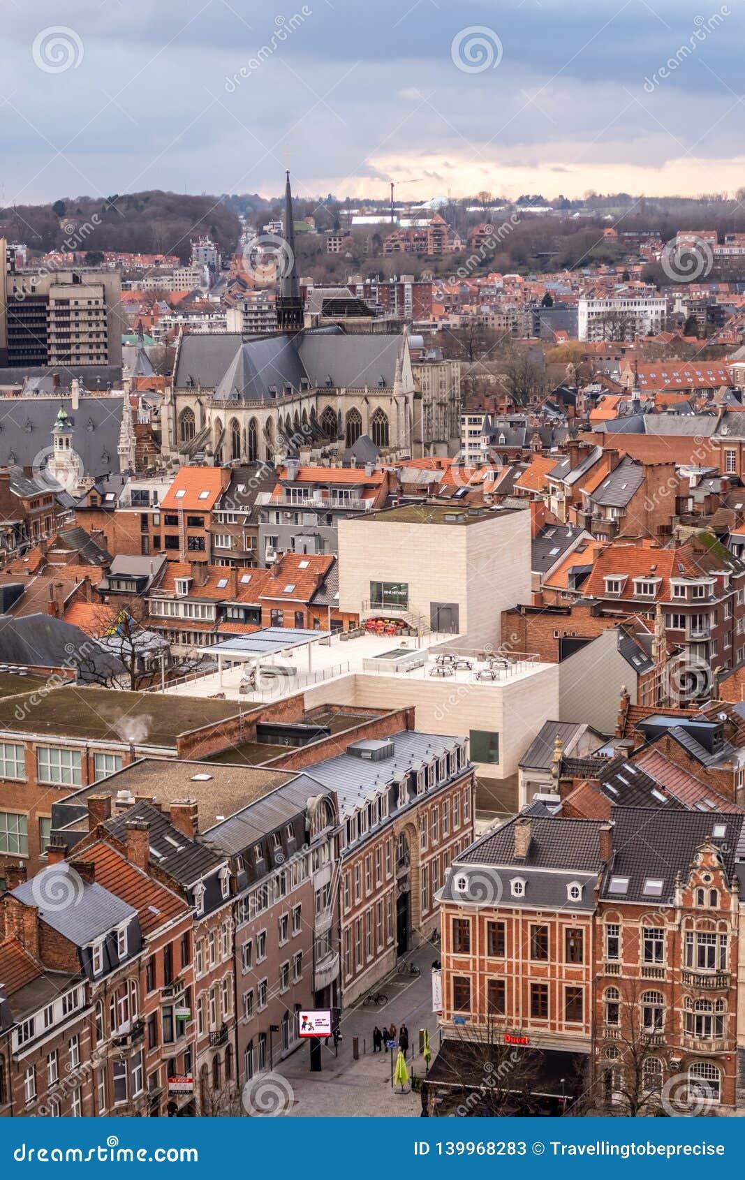 鲁汶,富兰德,比利时老镇的概略的看法