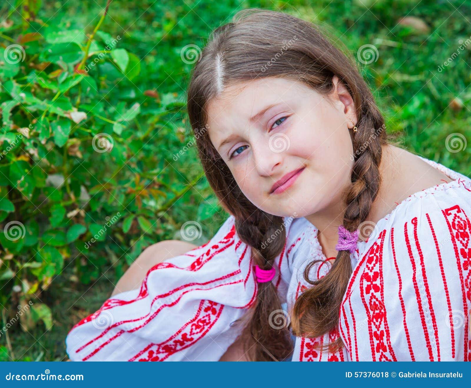 10 éénjarigenmeisje