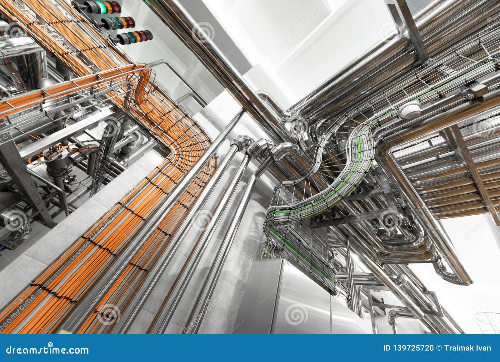 铝管子系统在食品工业植物的