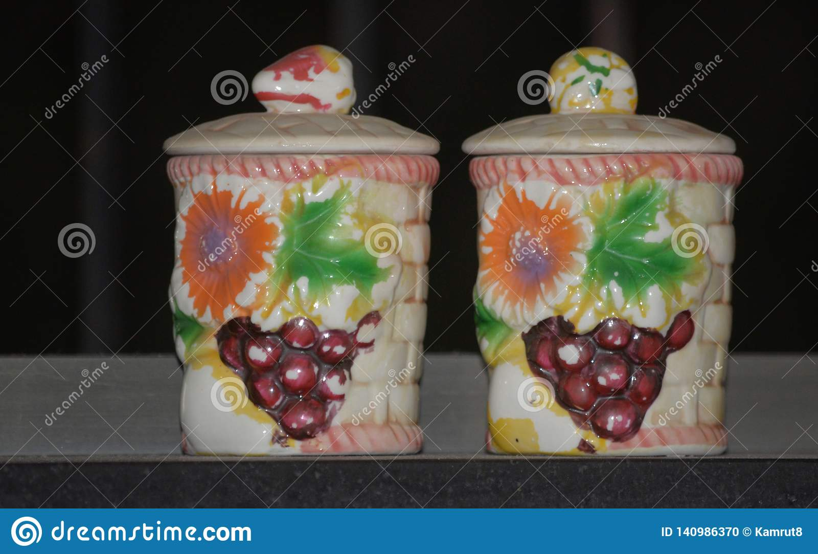 陶瓷设计师泥罐厨具
