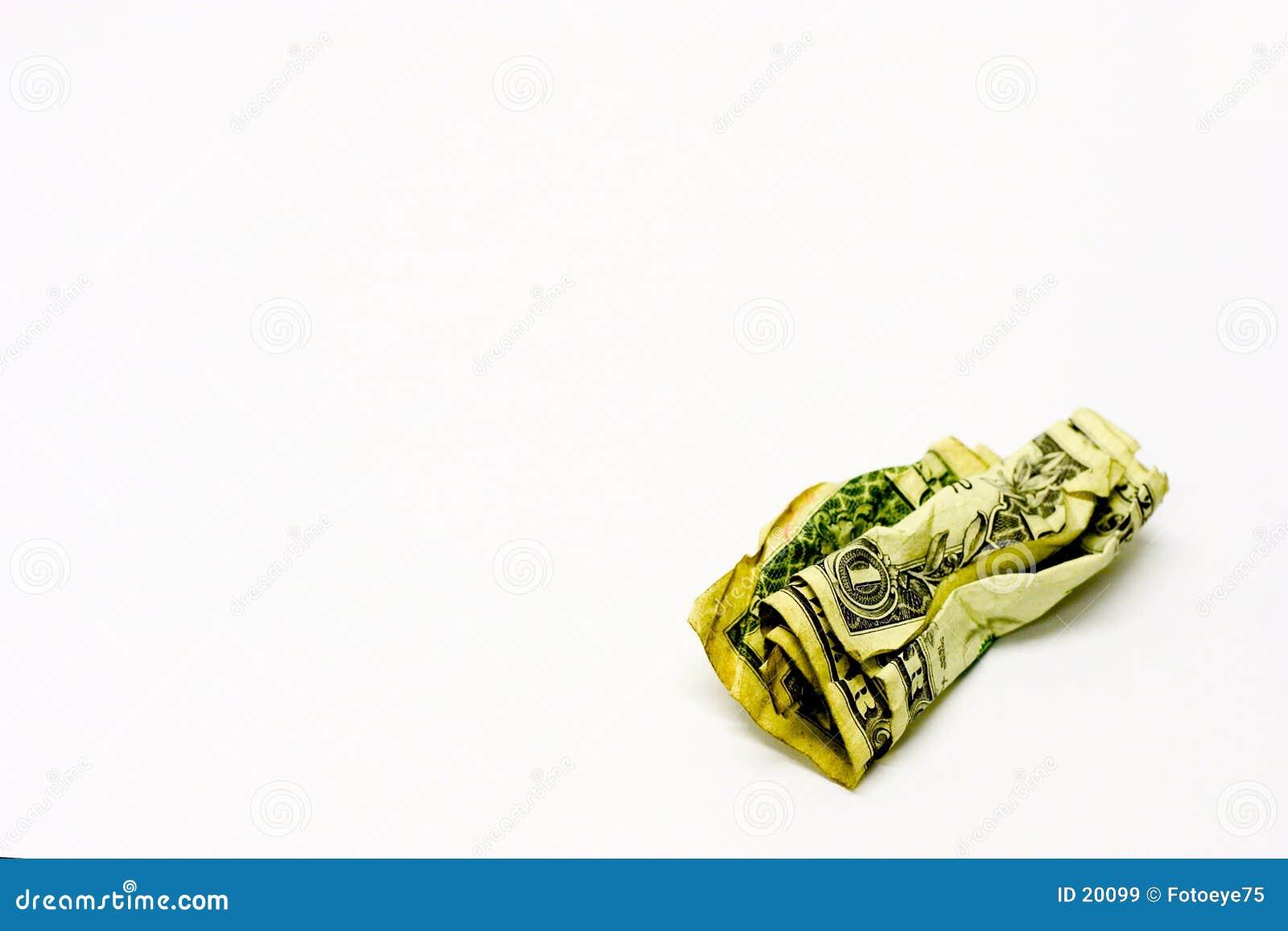 É somente dinheiro