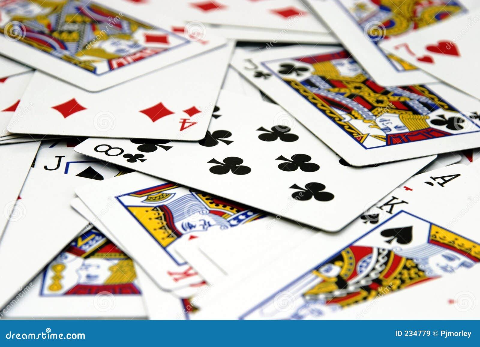 Écart des cartes
