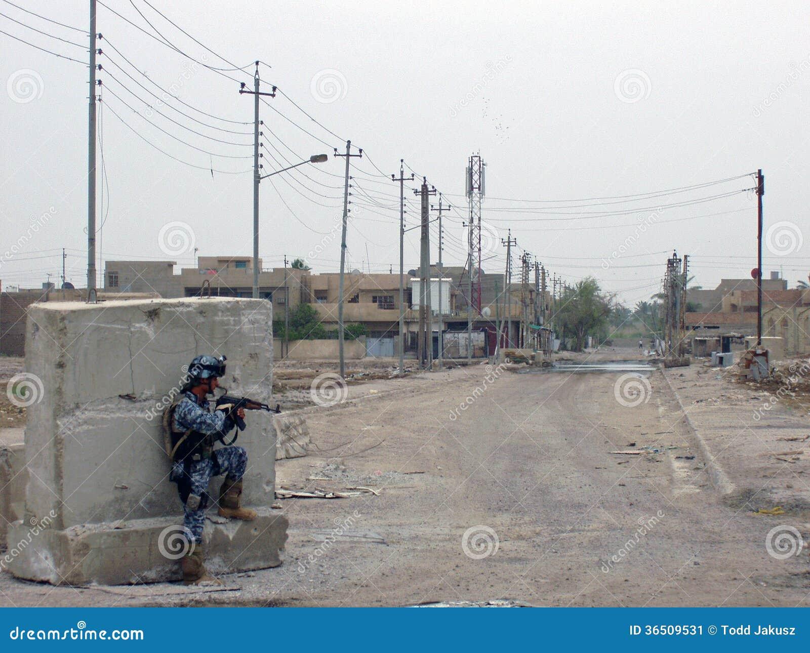 Échange de tirs Bagdad Irak 07 de police nationale