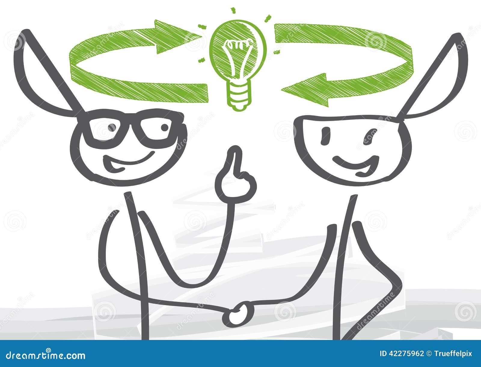 Échange des idées