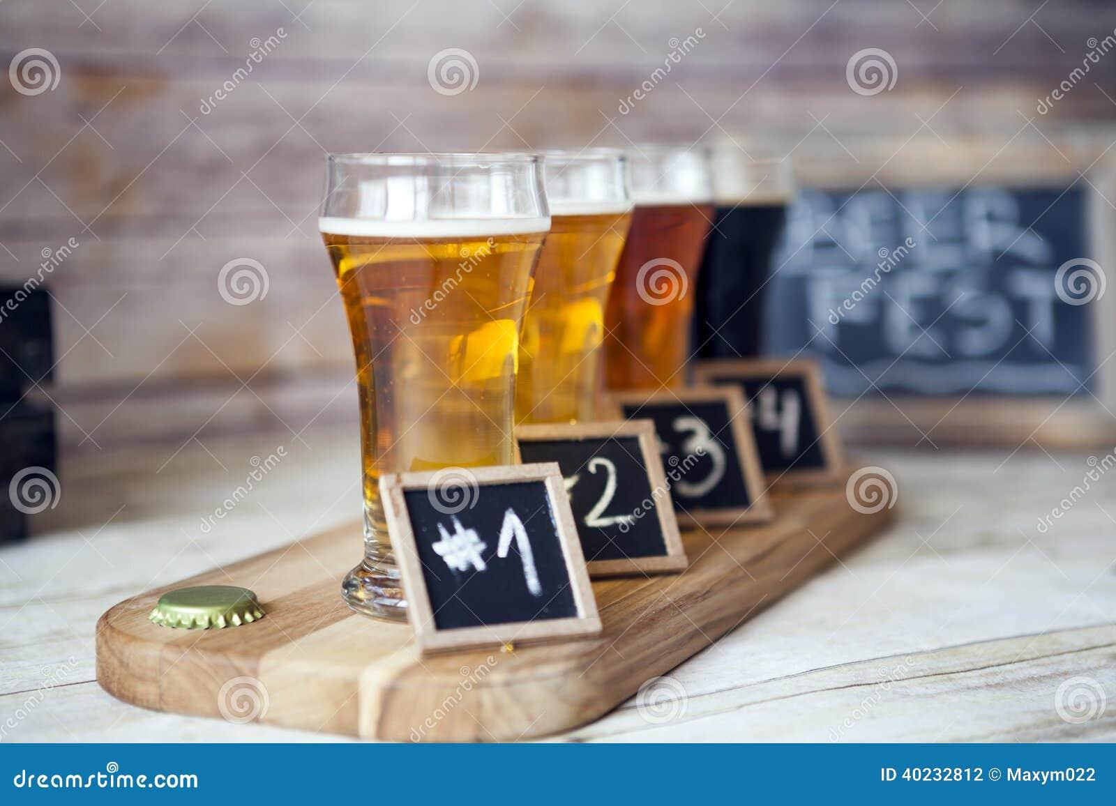 Échantillon de bière