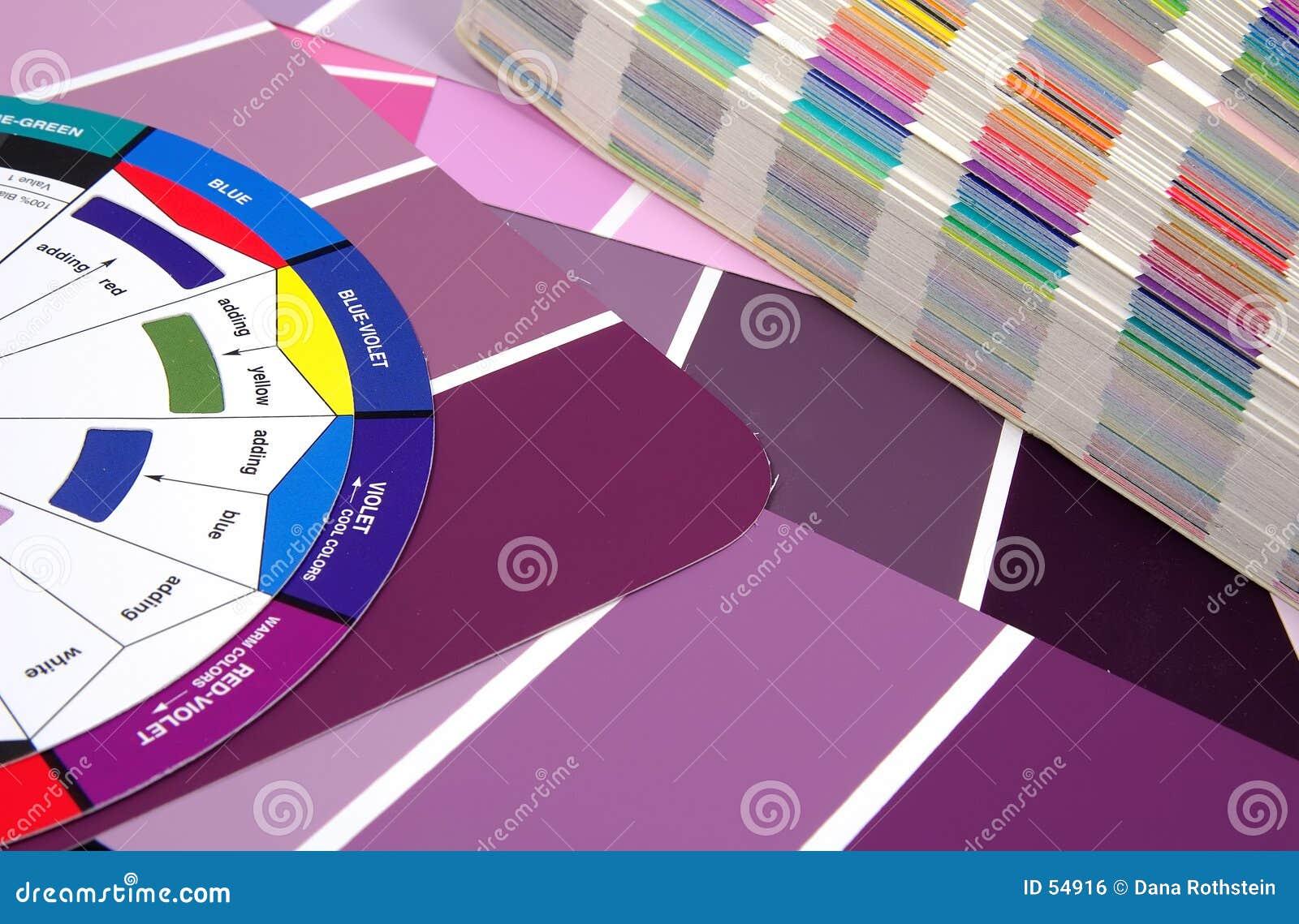 Download Échantillons de couleur photo stock. Image du décalage, code - 54916