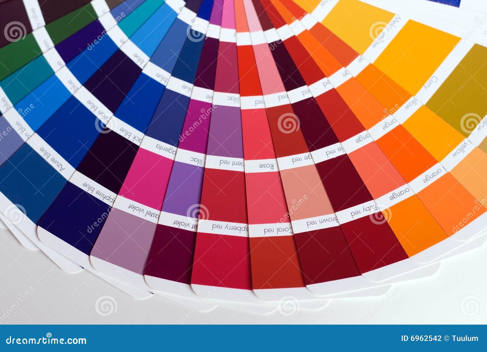 Échantillons de couleur photo stock. Image du closeup   6962542