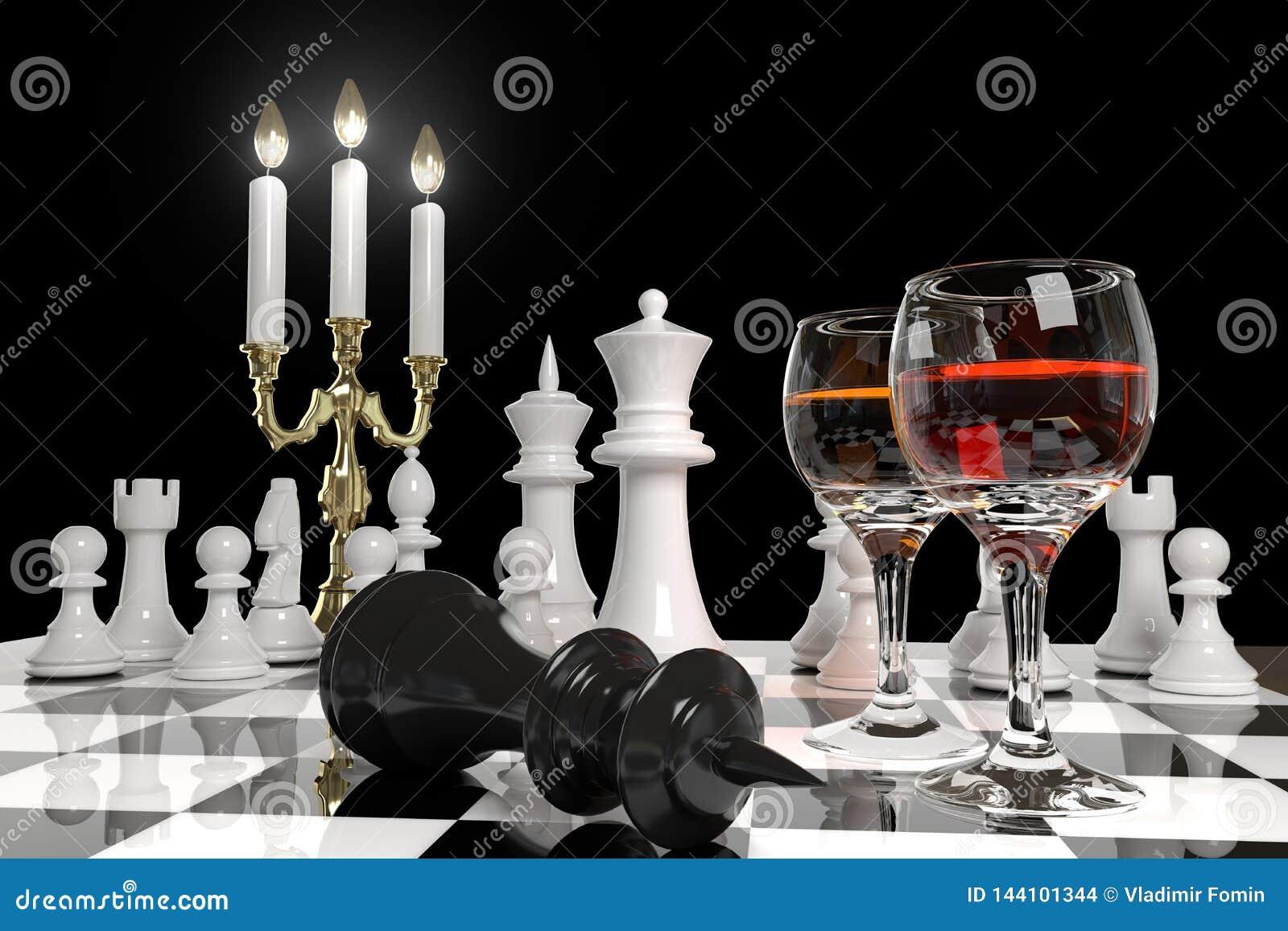 Échecs et bougies