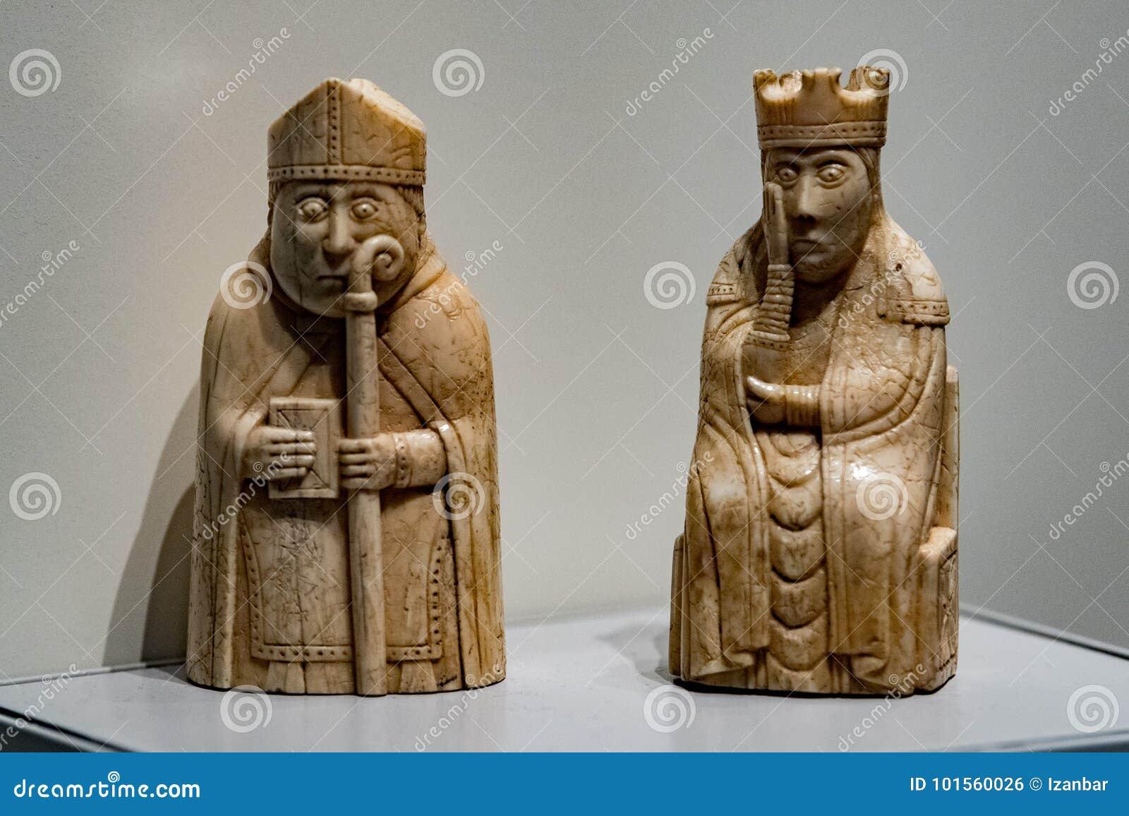 Échecs médiévaux de musée britannique