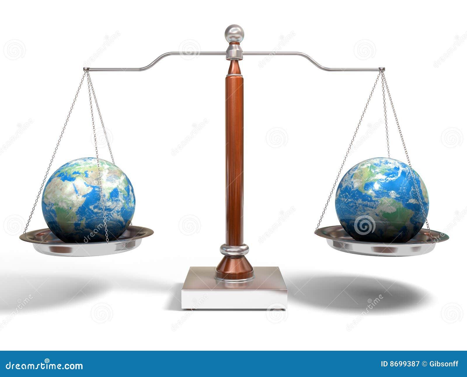 échelle de globes d équilibre