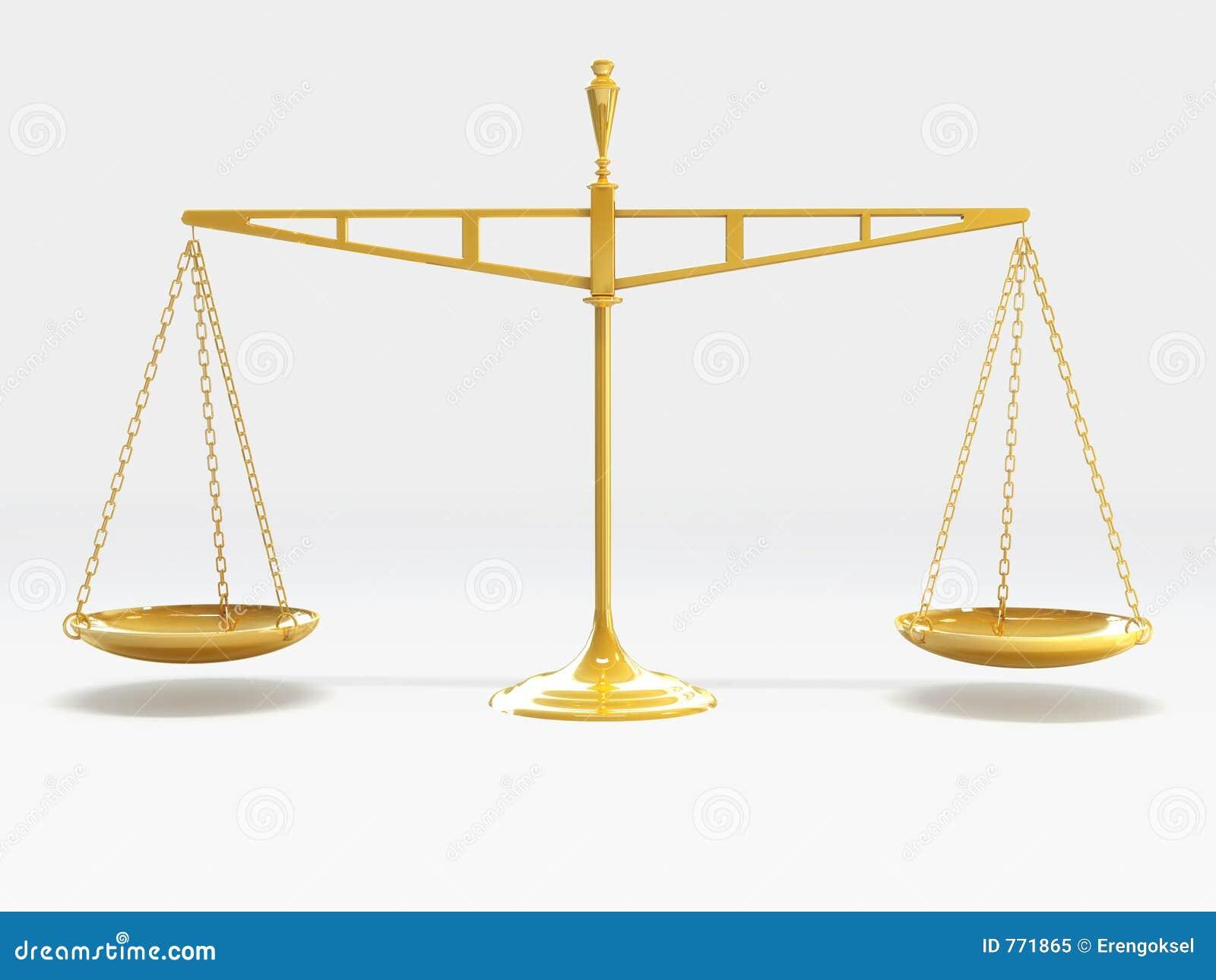 Échelle de justice