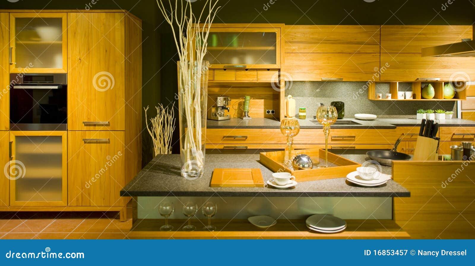 Chelle moderne neuve 20 de cuisine photographie stock for Echelle de cuisine