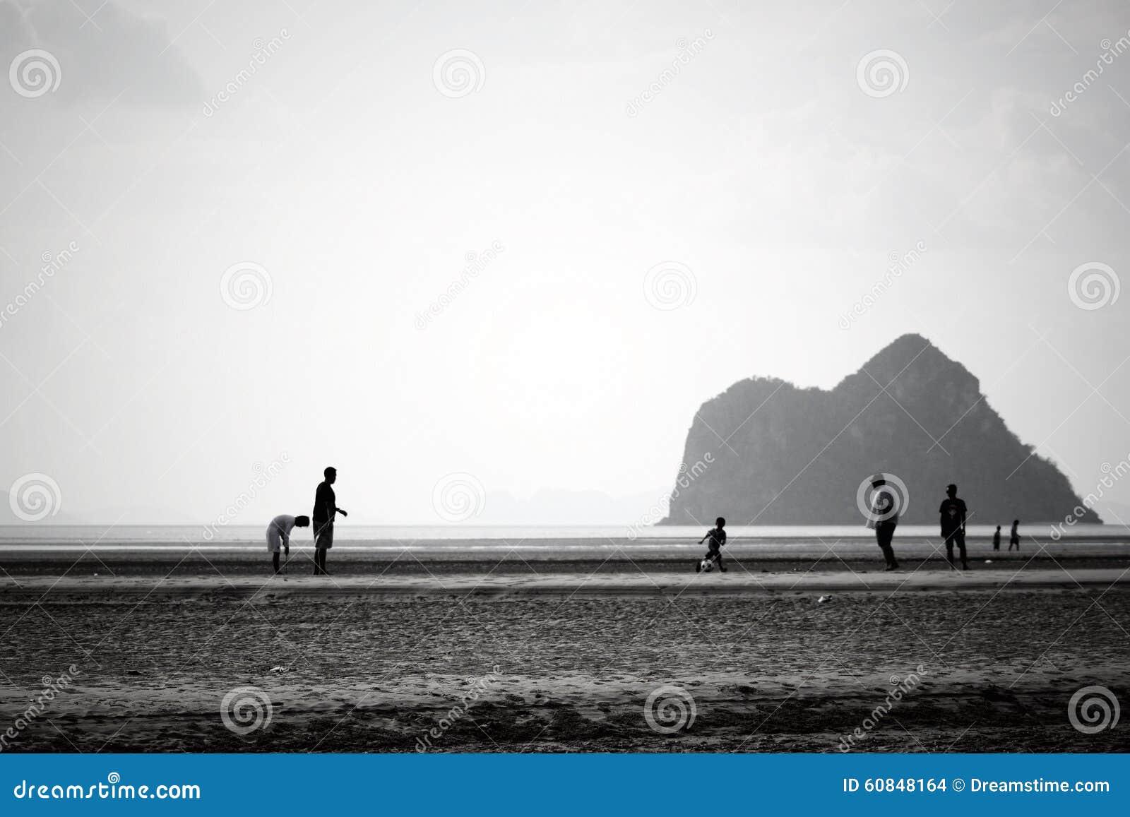 Échouez le paysage d ami de montagne, panorama, perspective, scène