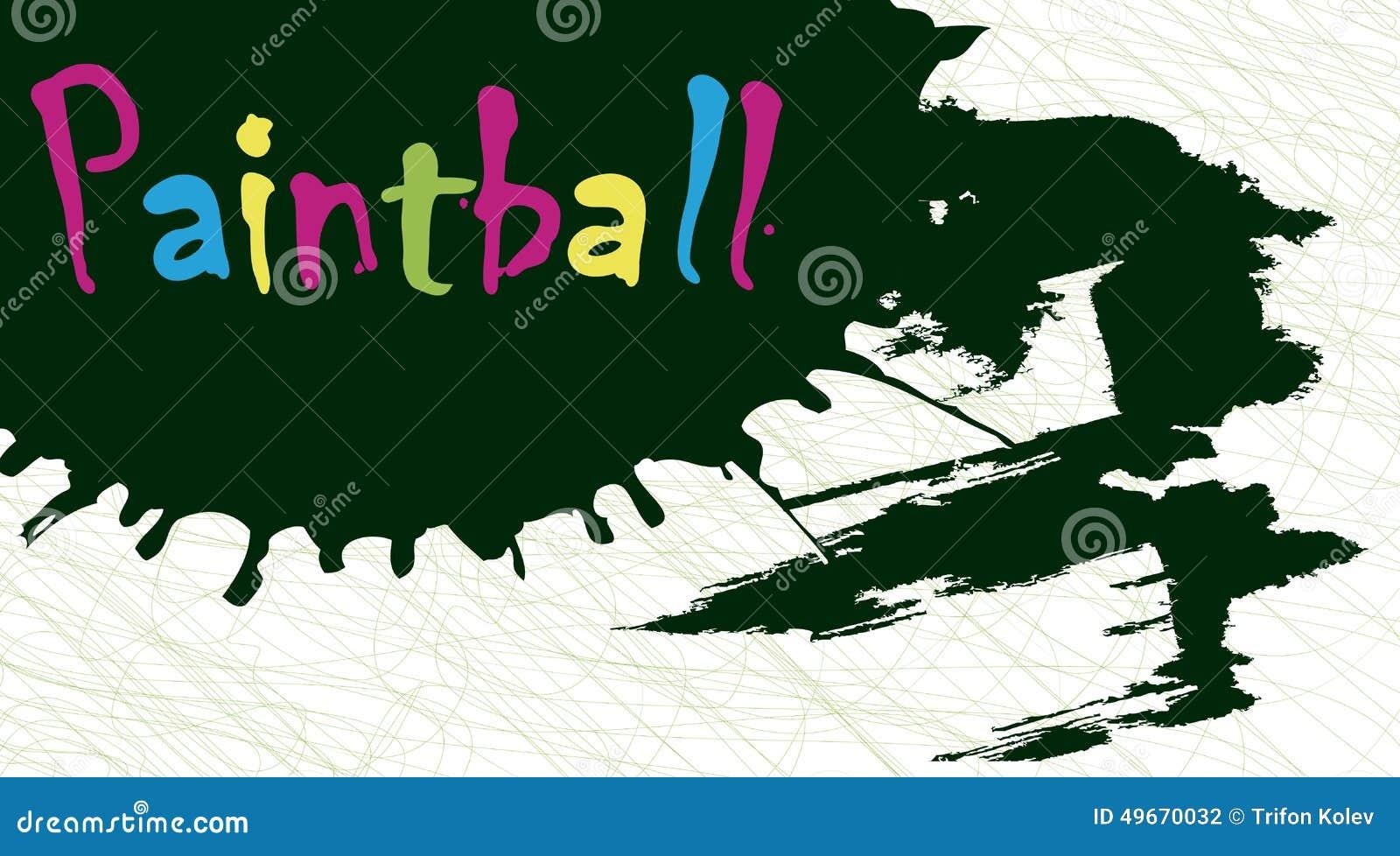 Éclaboussure de Paintball