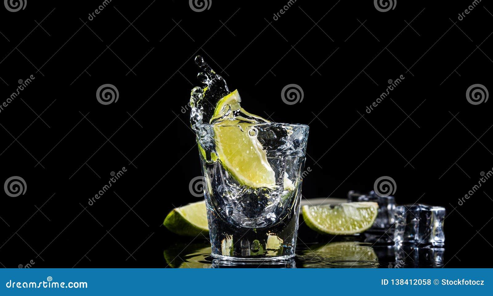 Éclaboussure mexicaine de tequila