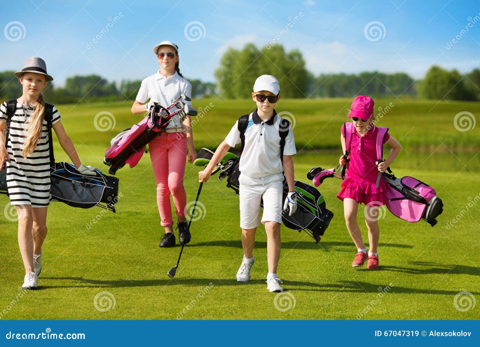 École de golf d enfants