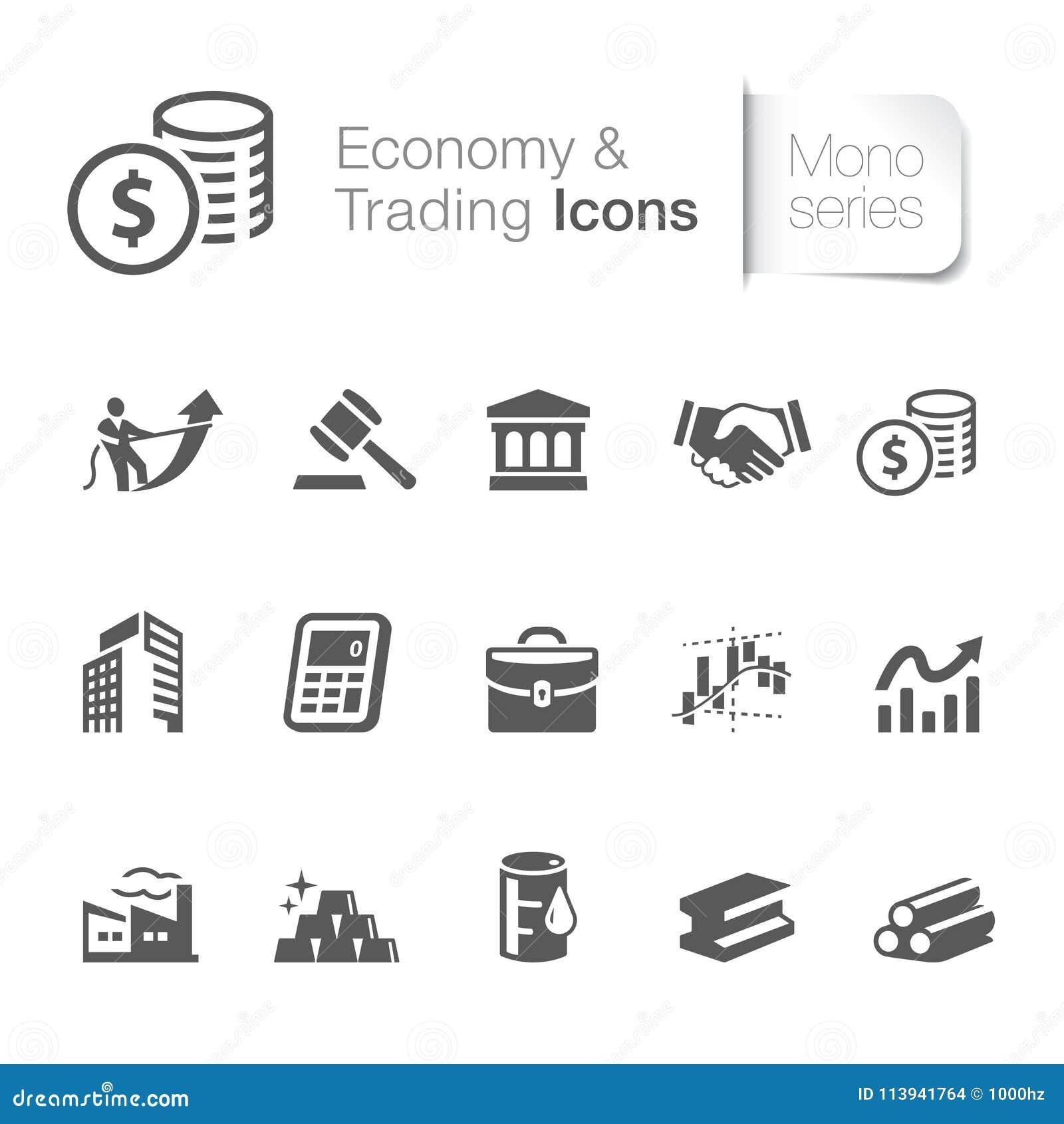 Économie et icônes marchandes