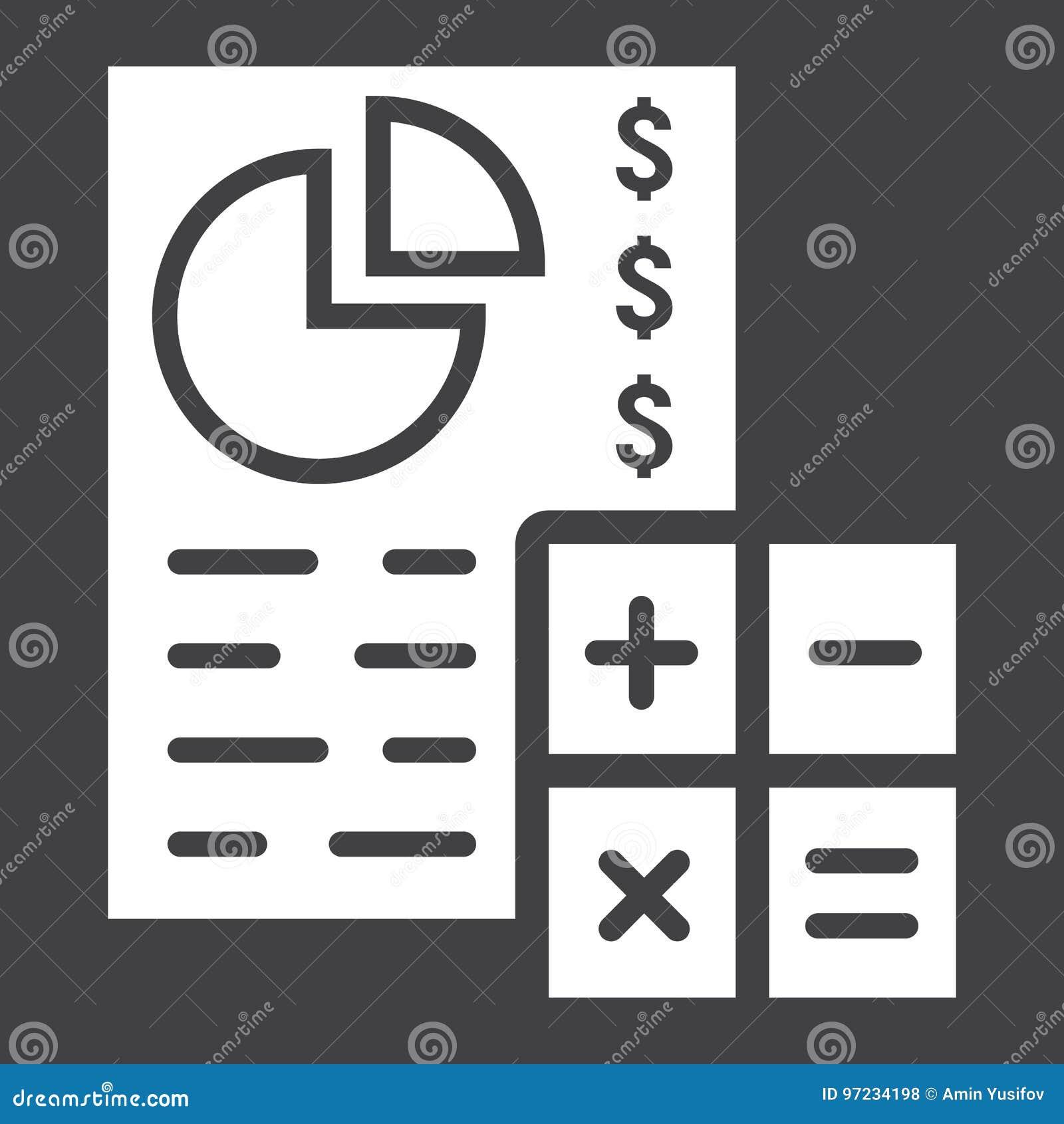 Économisez l icône, les affaires et les finances de rabotage de glyph