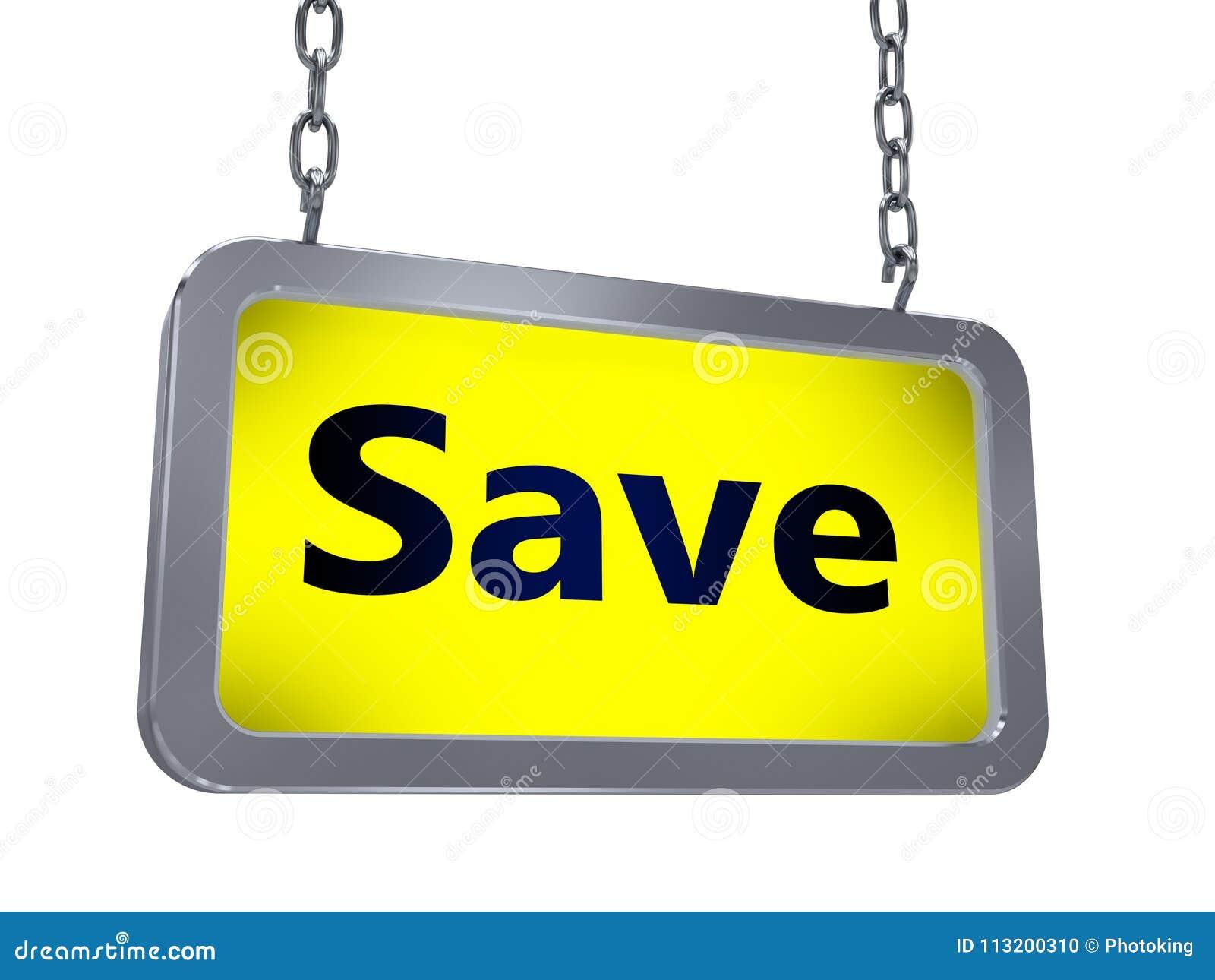 Économisez sur le panneau d affichage