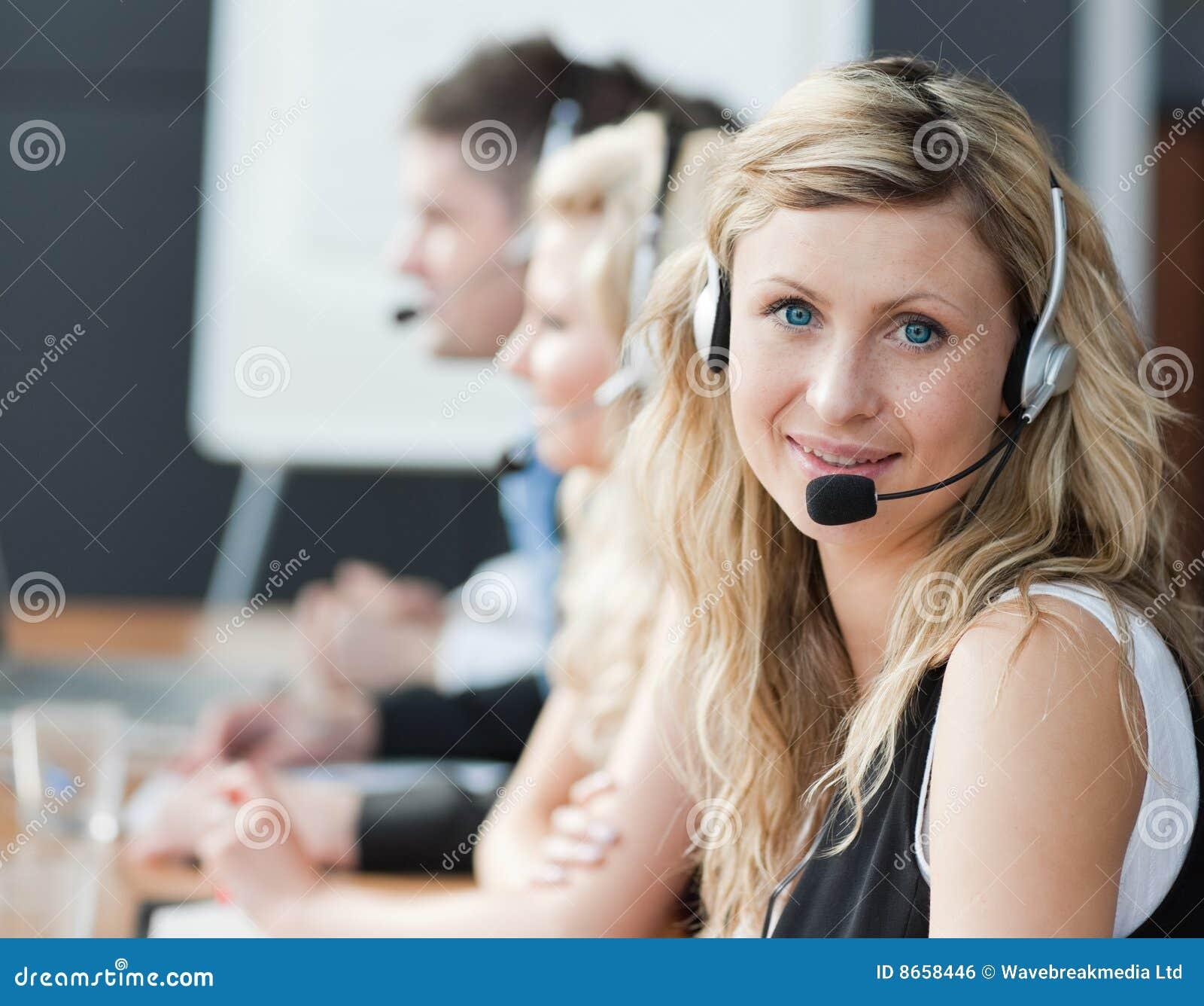Écouteurs de Businessteam