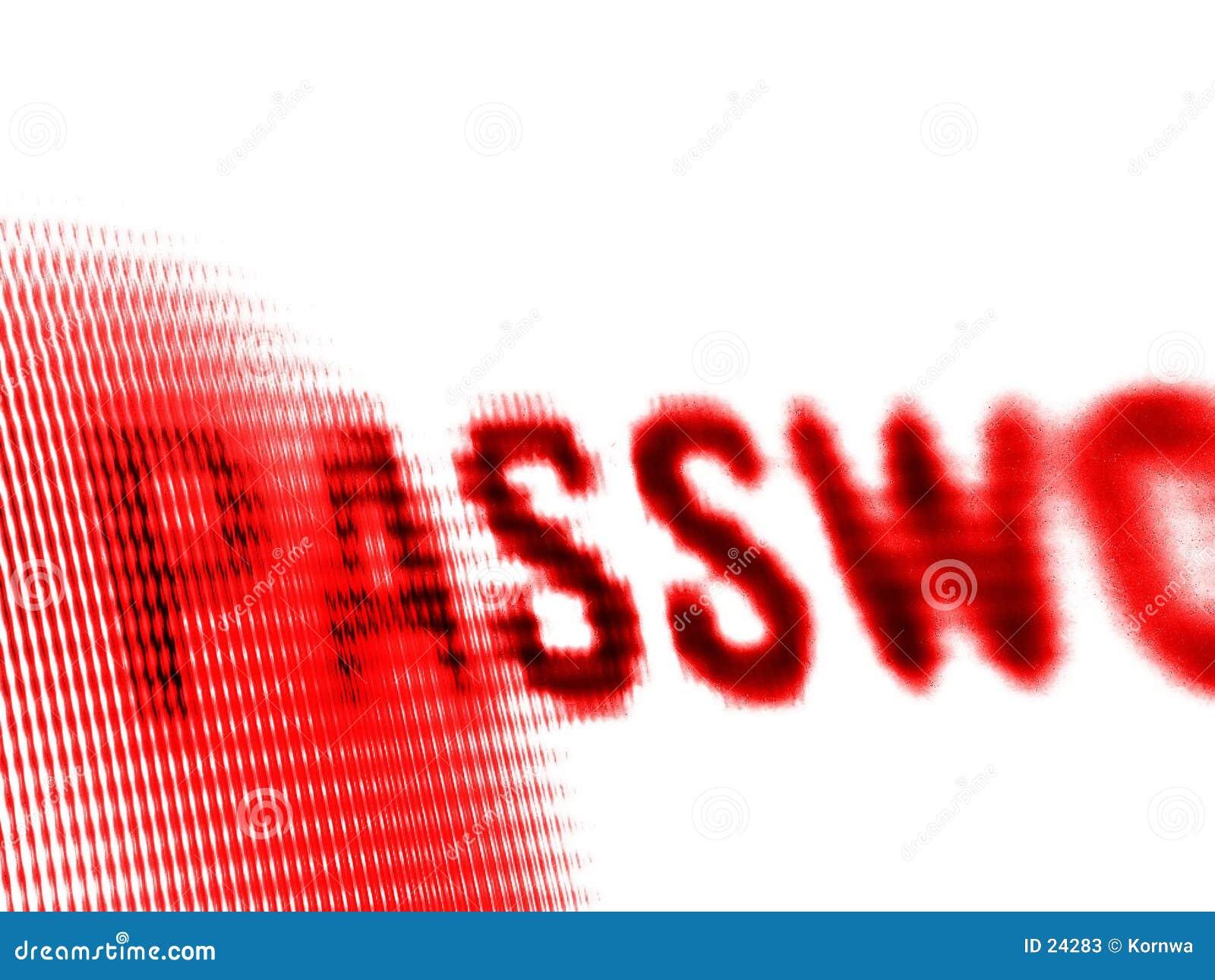 Écran de mot de passe