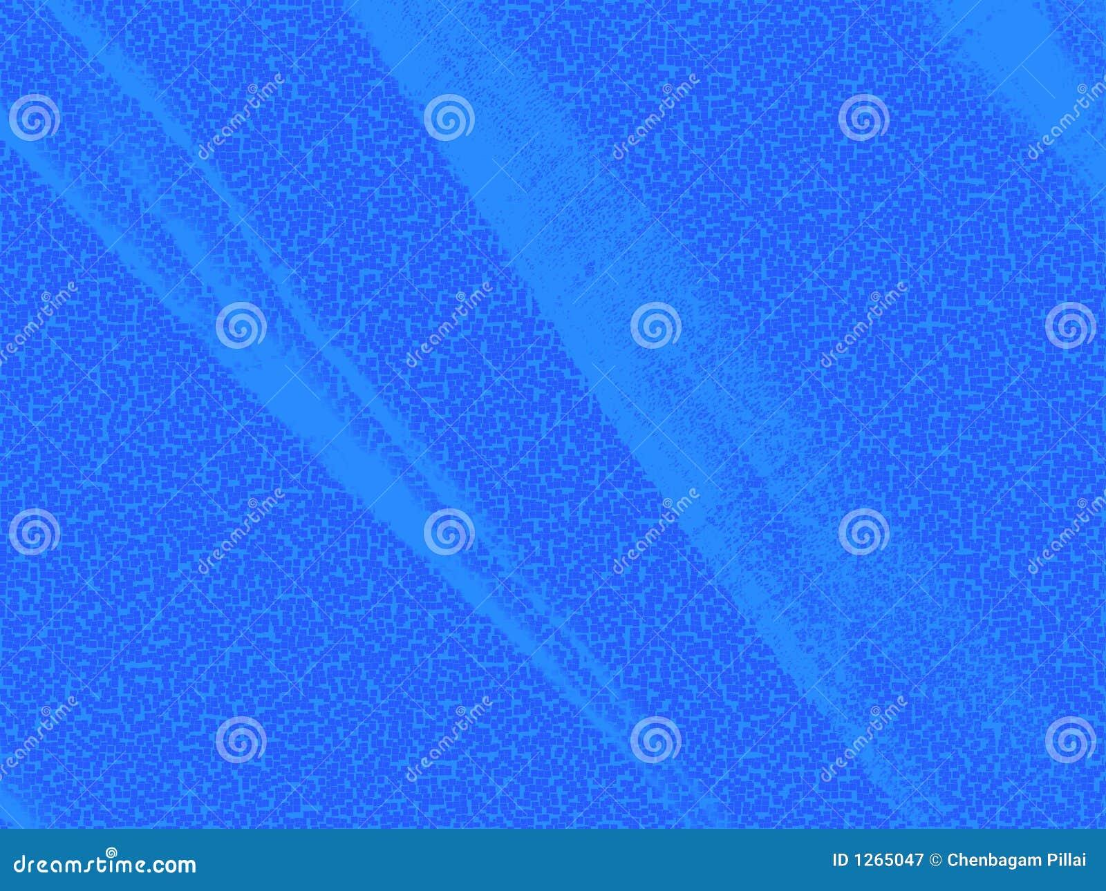 Écran ombragé bleu.