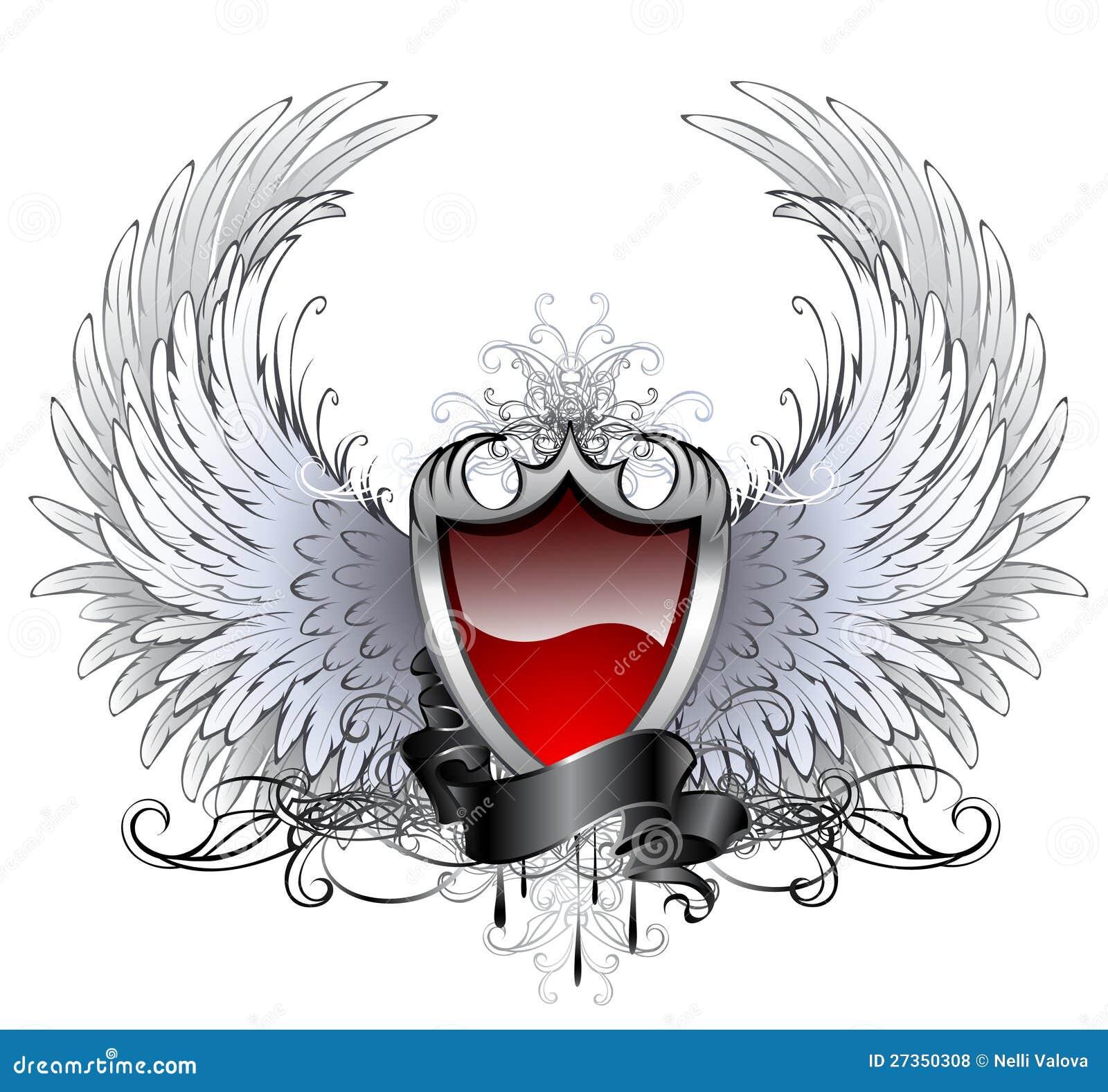 Écran protecteur rouge d ange