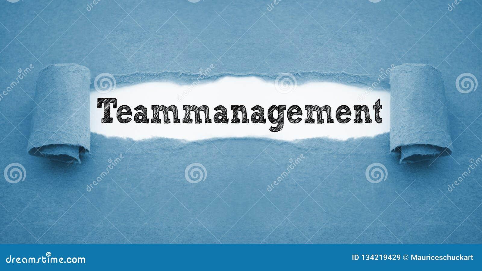 Écritures avec le teammanagement