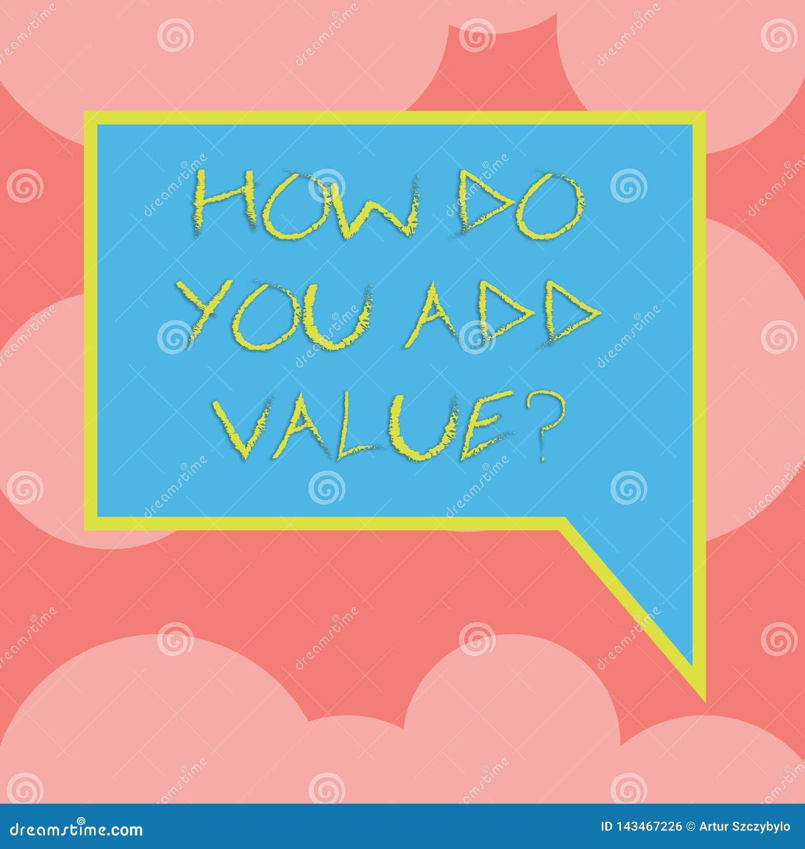 Écrivant la note montrant comment vous ajoutez Valuequestion La présentation de photo d affaires apportent le progrès d affaires