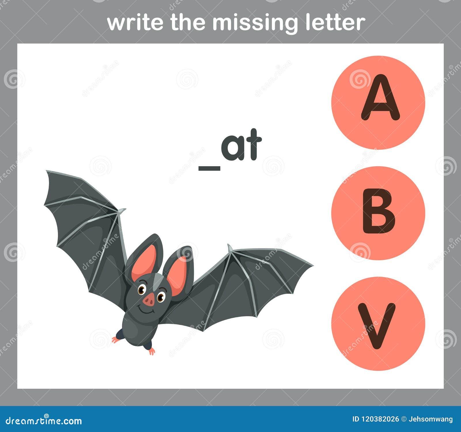 Écrivez la lettre absente
