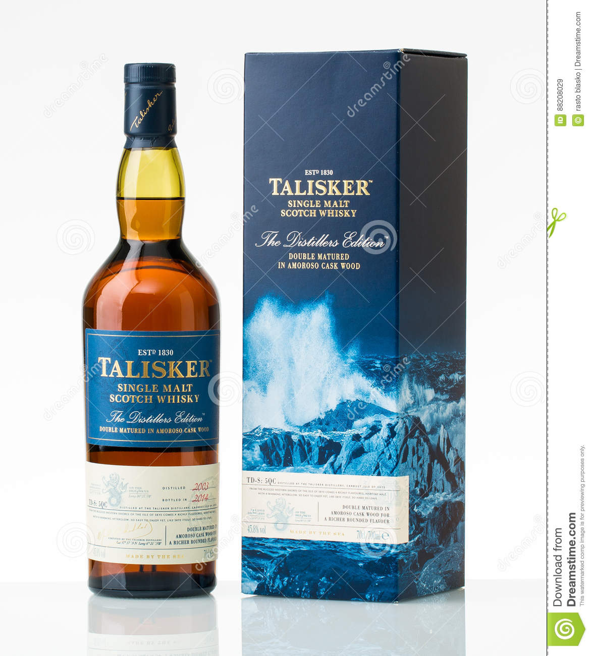 Édition simple de distillateurs de tapis de Talisker