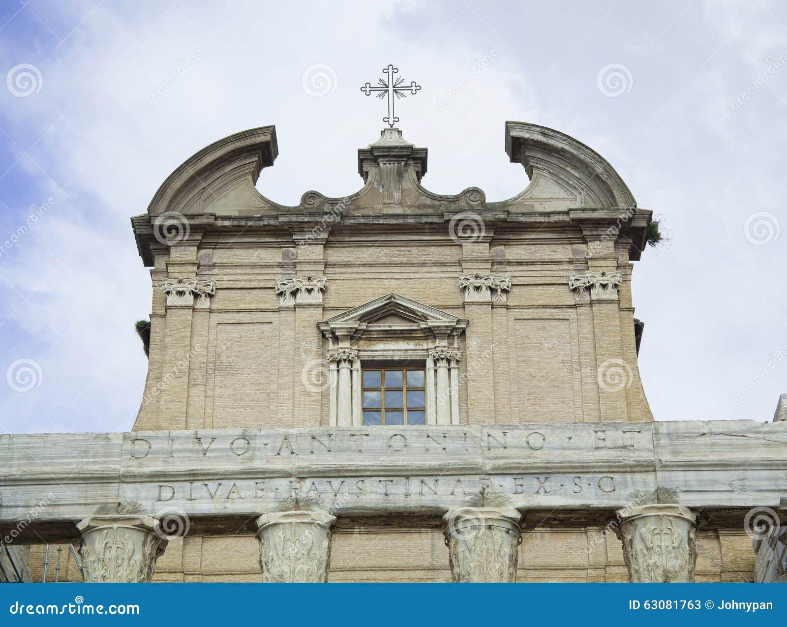 Download Église à Rome image stock. Image du italie, architecture - 63081763