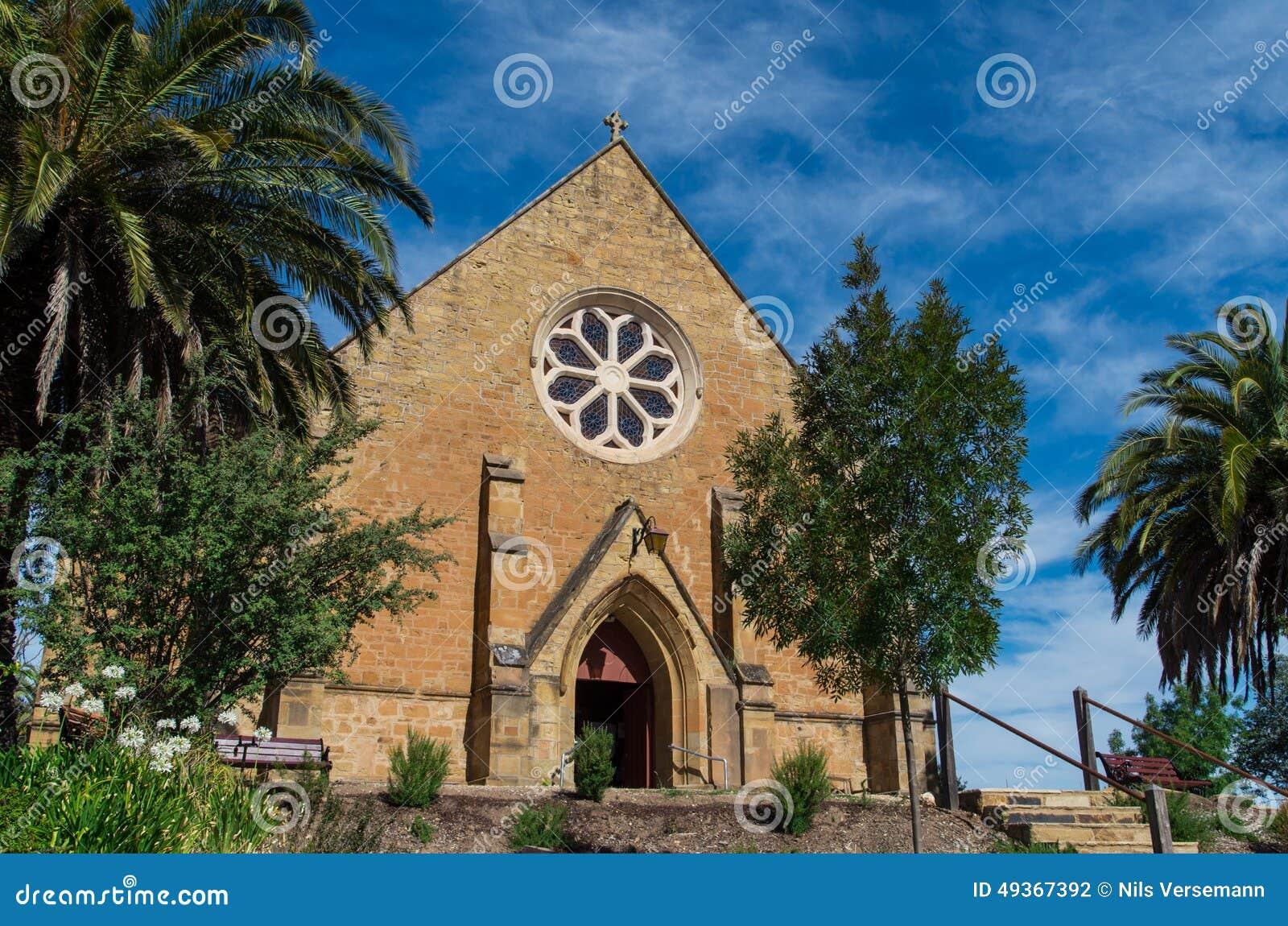 Église Anglicane d église du Christ dans Castlemaine
