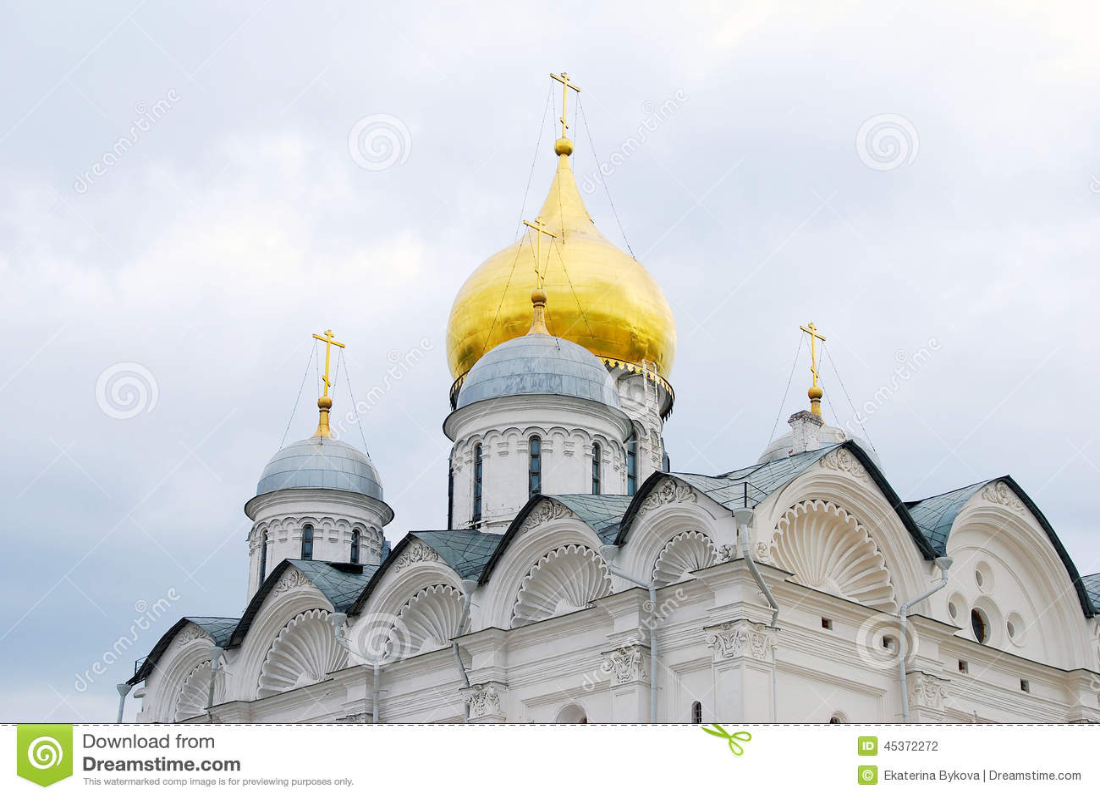 Église d archanges Moscou Kremlin Héritage de l UNESCO