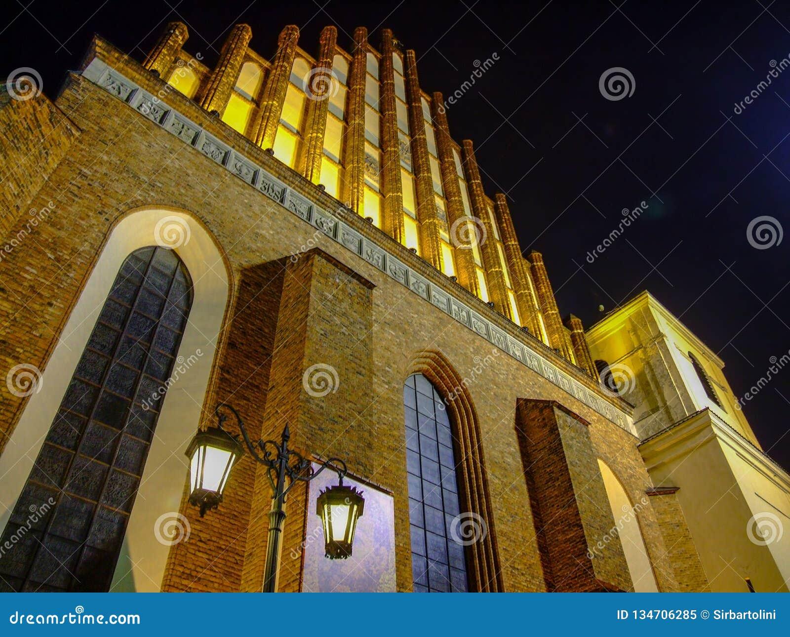 Église d Archcathedral de Saint John à Varsovie en Pologne