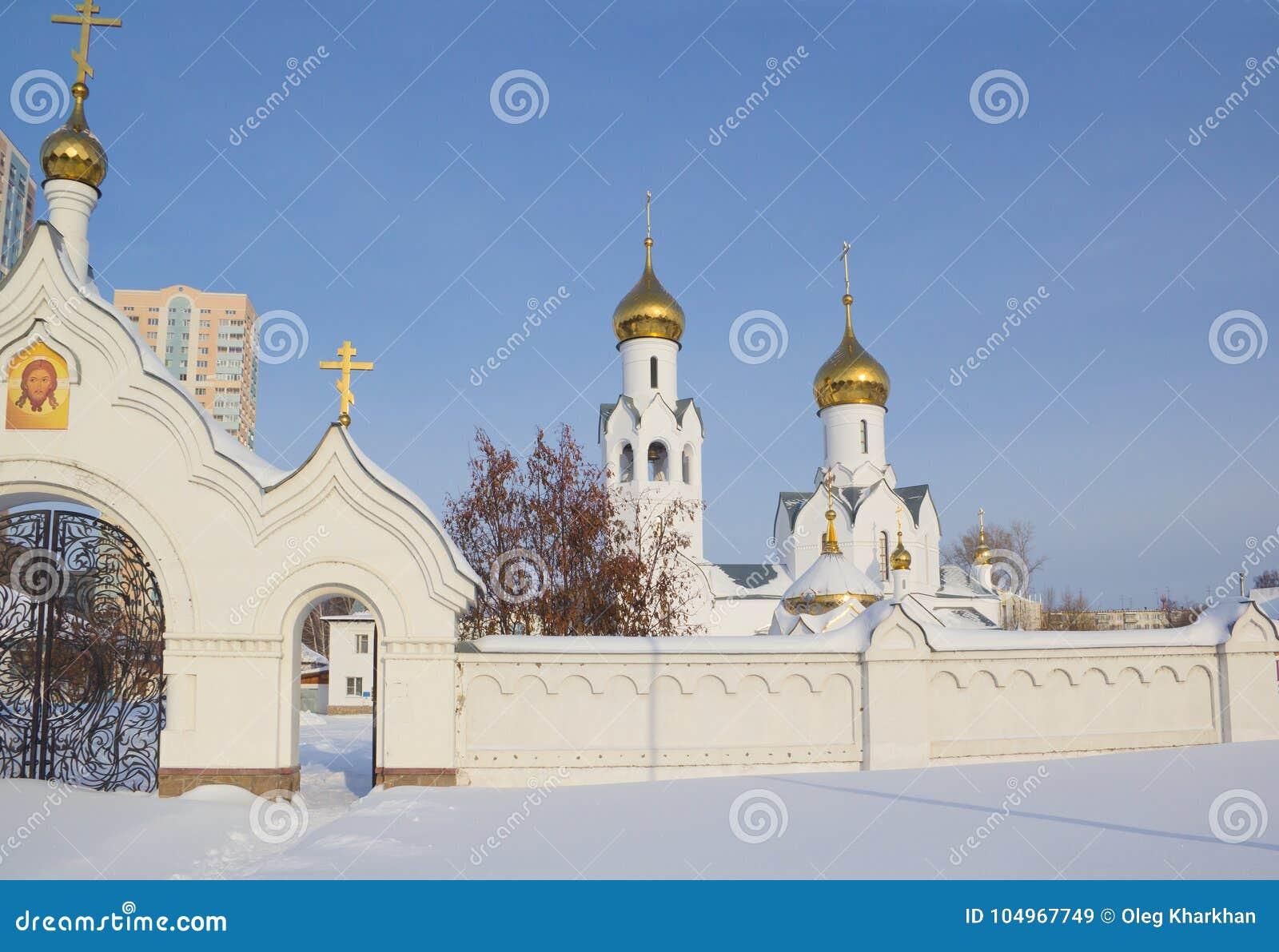 Église d Archistrategos Mikhail à Novosibirsk