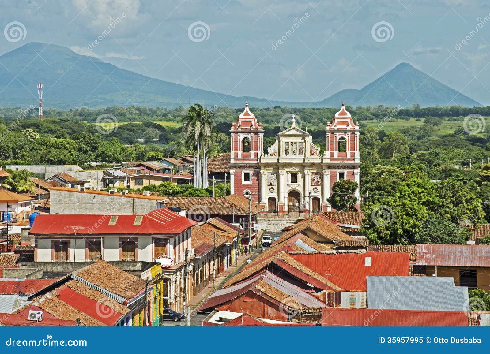 Église d EL Calvario à Léon, Nicaragua