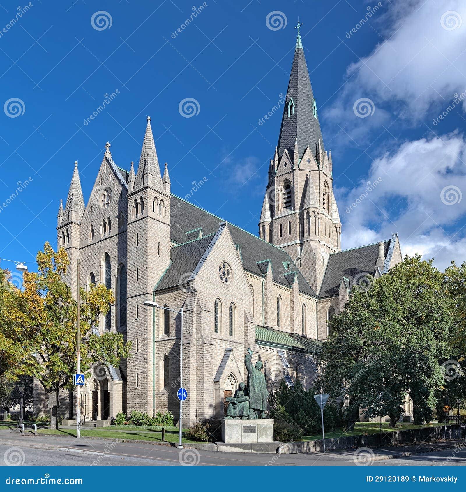 Église d Olaus Pétri dans Orebro, Suède