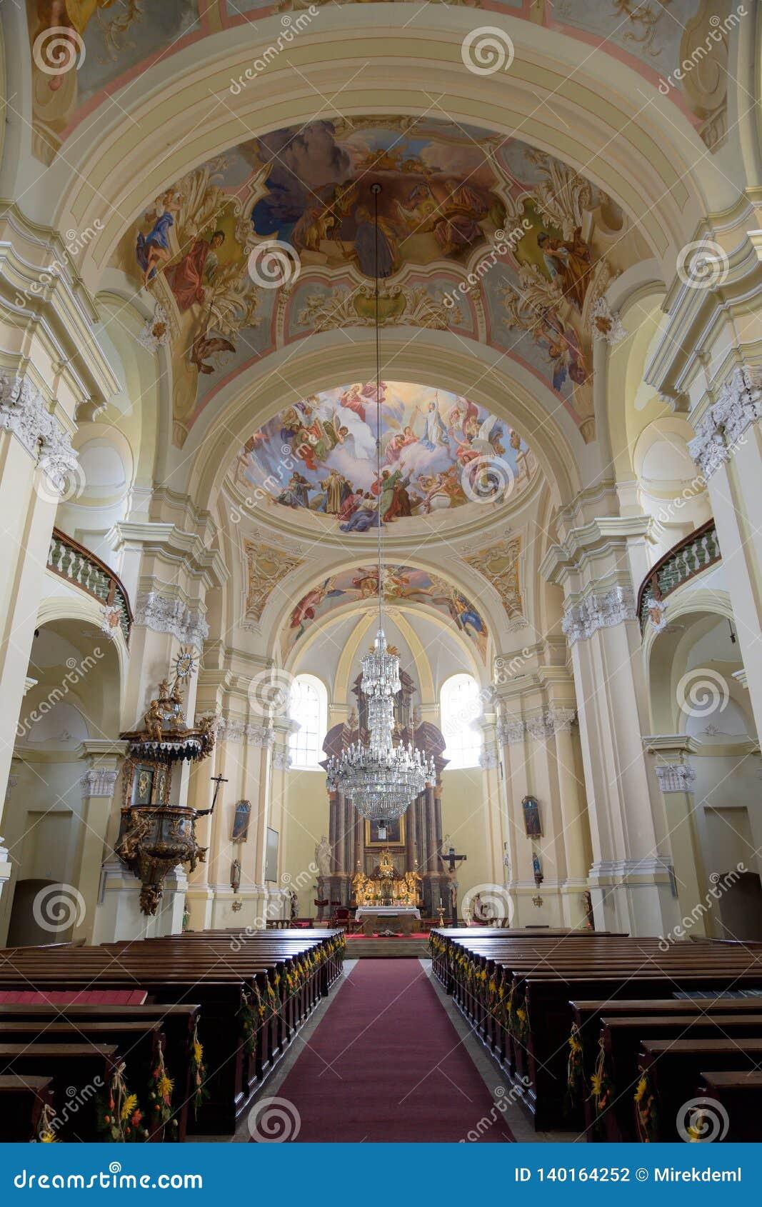 Église dans le Hejnice, République Tchèque