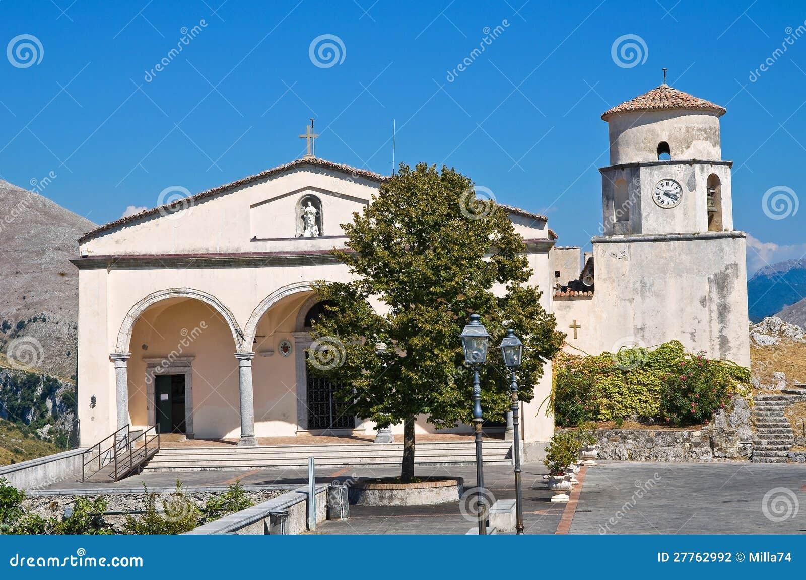 Église de basilique de St Biagio. Maratea. Basilicate. L Italie.