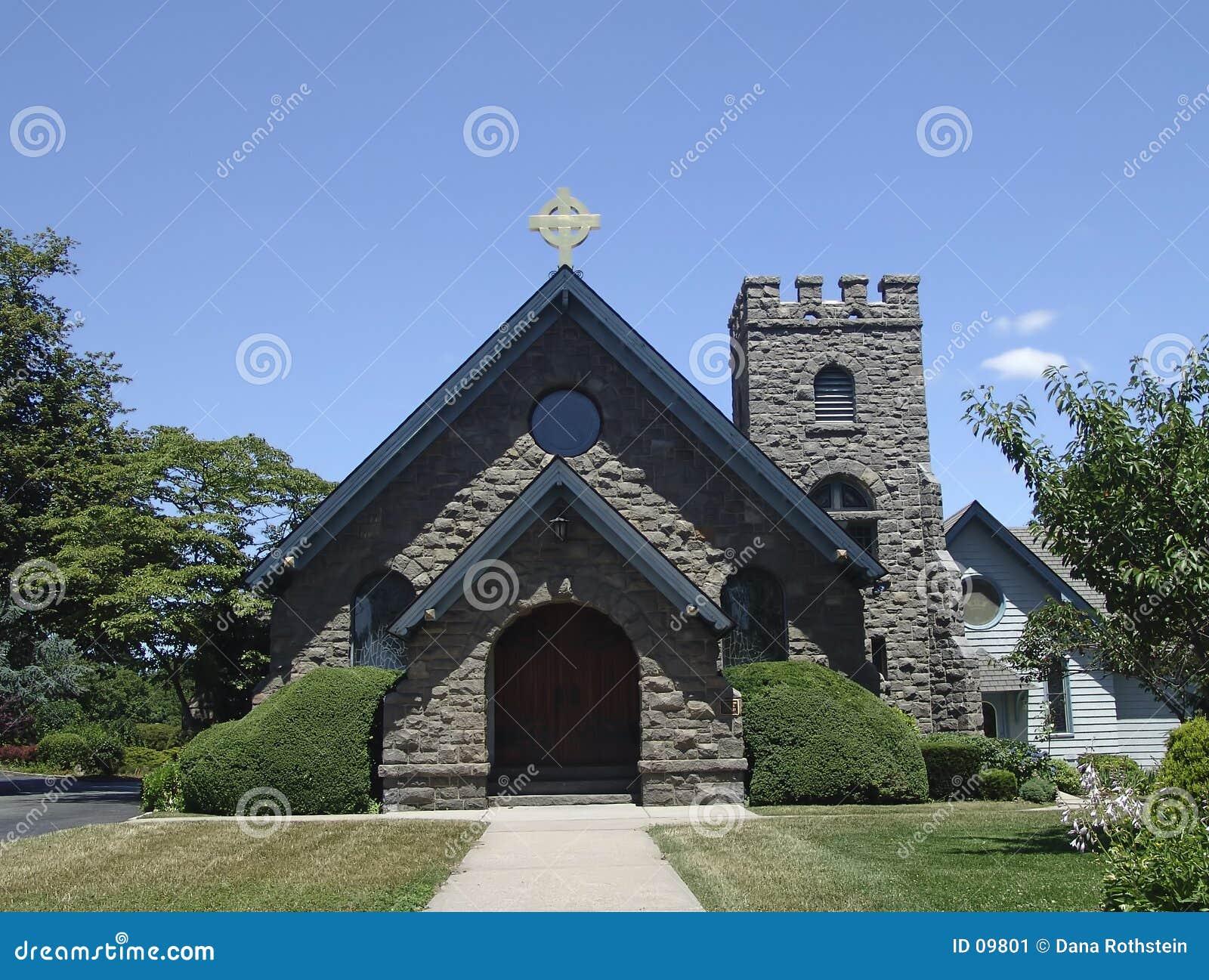Église de brique