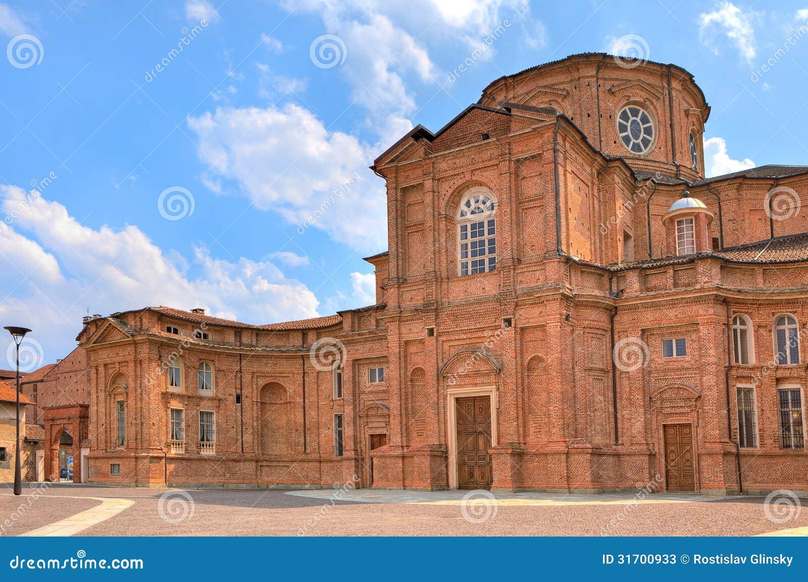 Glise de brique dans venaria reale italie image stock for Dans italien