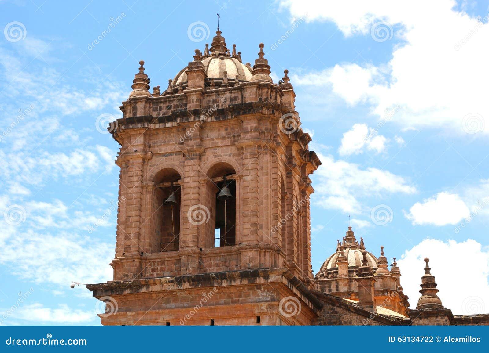 église de cathédrale à la plaza de Armas cuzco Pérou