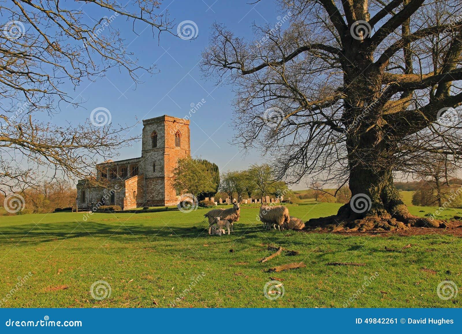 Église de Fawsley de St Mary la Vierge