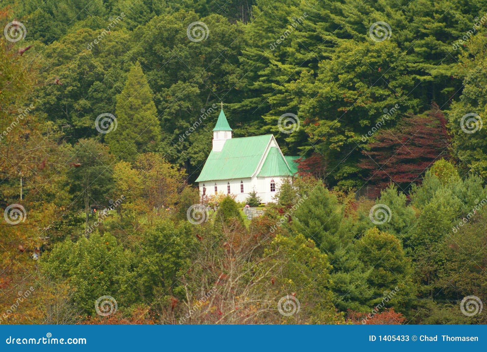 Église de flanc de coteau