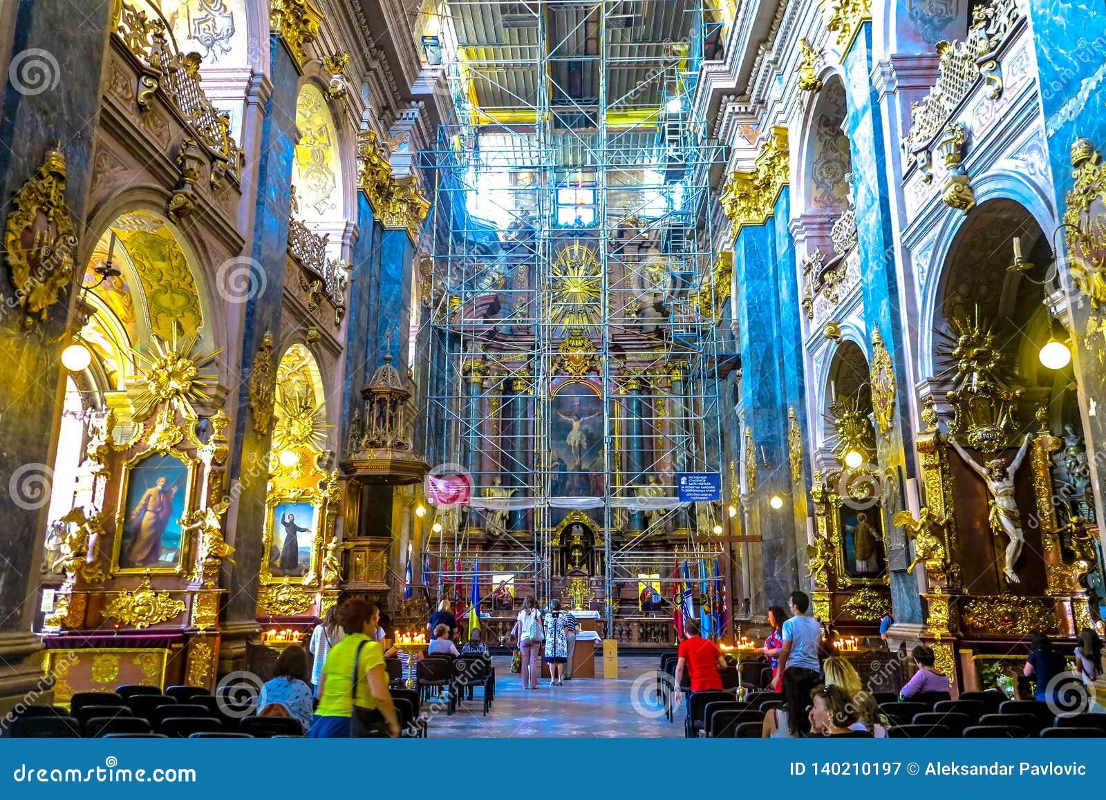 Église 02 de jésuite de Lviv