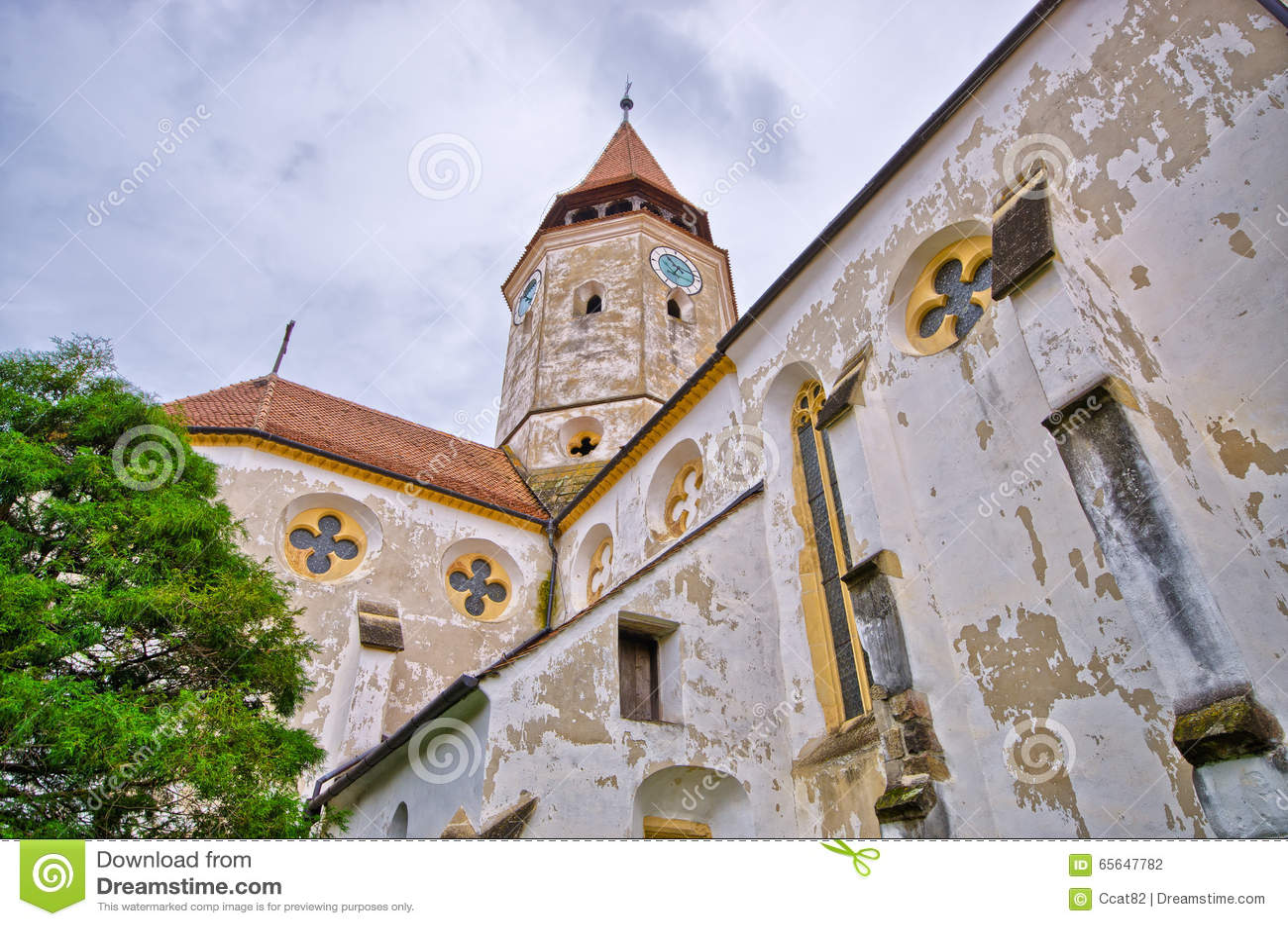 Église de la défense dans Prejmer, Roumanie