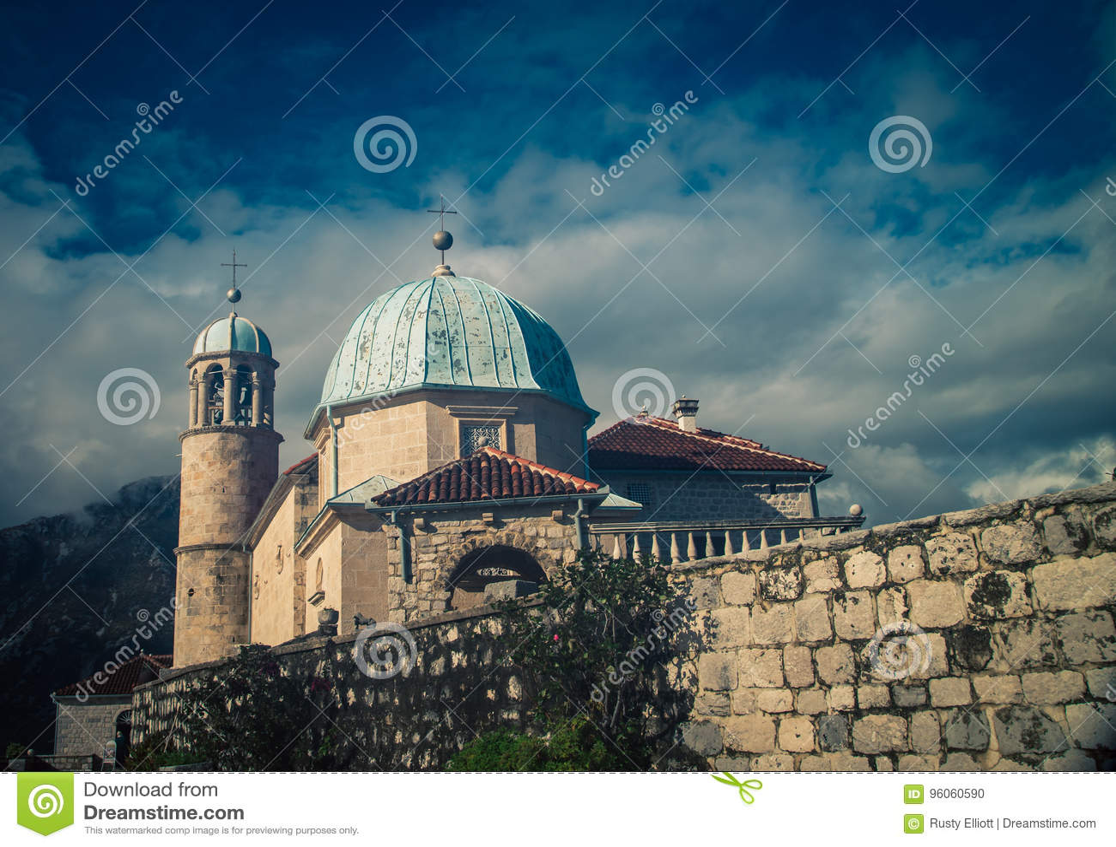 Église de la roche Monténégro