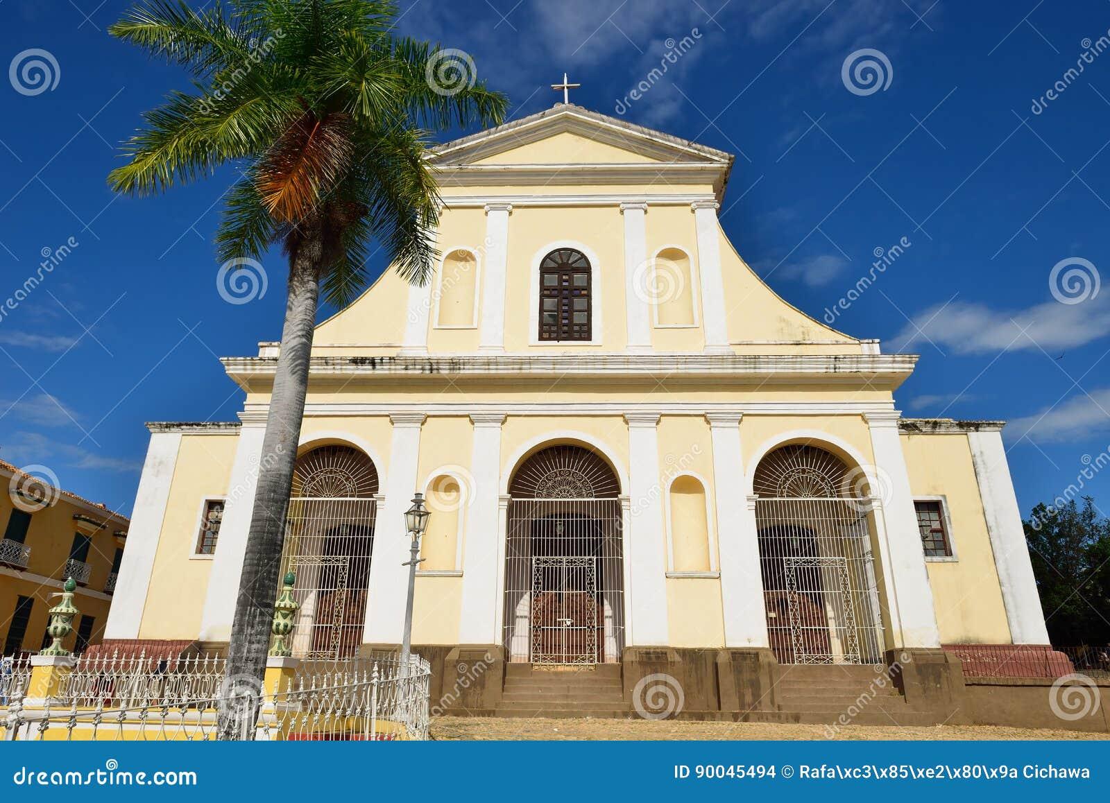 Église de la trinité sainte au Trinidad, Cuba