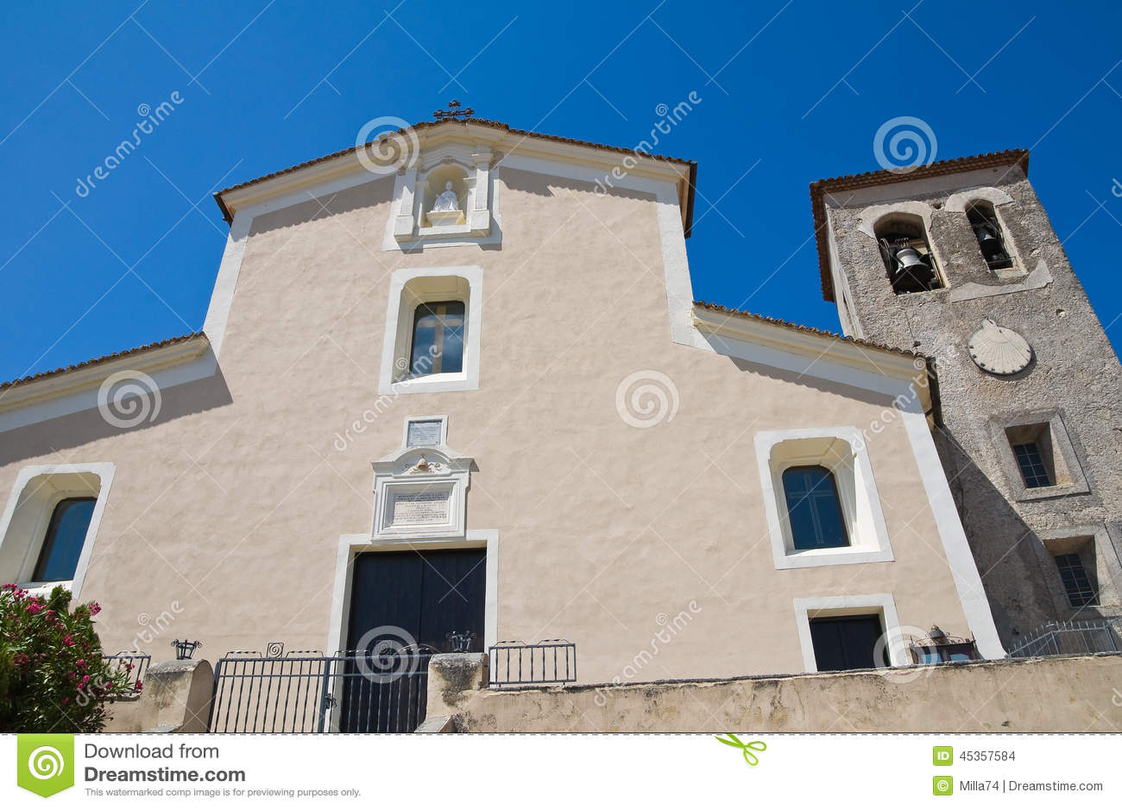 Église de mère de Morano Calabro La Calabre l Italie
